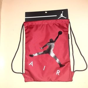 "Nike string Backpack 19"" length, 14"" width"